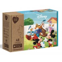 Puzzle 3x48 Play For Future Mickey Mouse Myszka Miki Clementoni