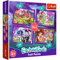 Puzzle 4w1 Enchantimals TREFL