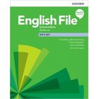 English File Fourth Edition Intermediate Workbook + key 2019