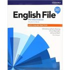 English File Fourth Edition Pre-Intermediate Podręcznik + online practice 2019
