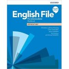 English File Fourth Edition Pre-Intermediate Workbook without key 2019