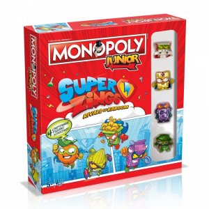 Gra Monopoly Junior Super Zings