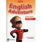 New English Adventure 3 Ćwiczenia + CD