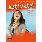 Activate! B1+ Workbook (with Key) Zeszyt ćwiczeń z kluczem + CD