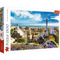 Puzzle 1500 Park Guell Barcelona TREFL